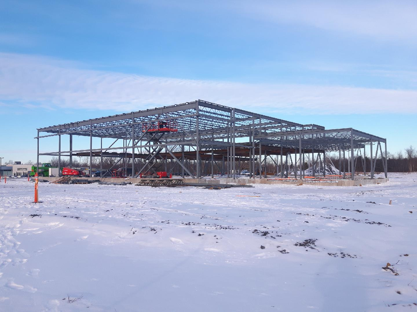 Nissan Dealership - Structural & Misc. Steel Project